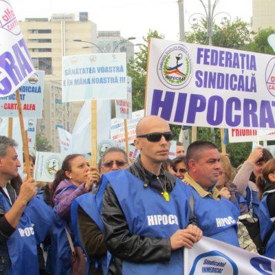 Protest Federatia Hipocrat
